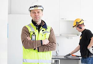 Peritty into kodinrakennukseen